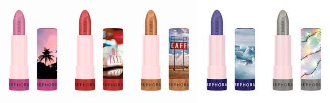 I rossetti ad effetto metallico della collezione #Lipstories di Sephora