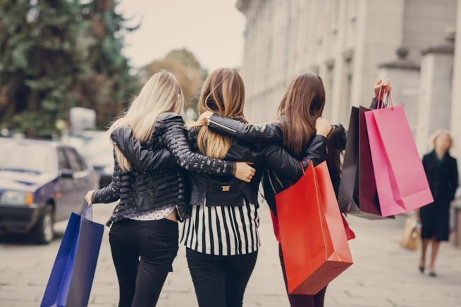 un momento di shopping