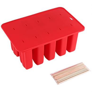 Silicone Popsicle stampi in silicone 10 celle