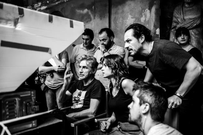 Ligabue, Accorsi e Smutniak sul set di Made in Italy