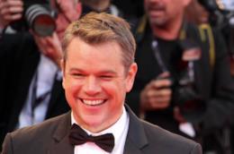 Matt Damon a Venezia 74