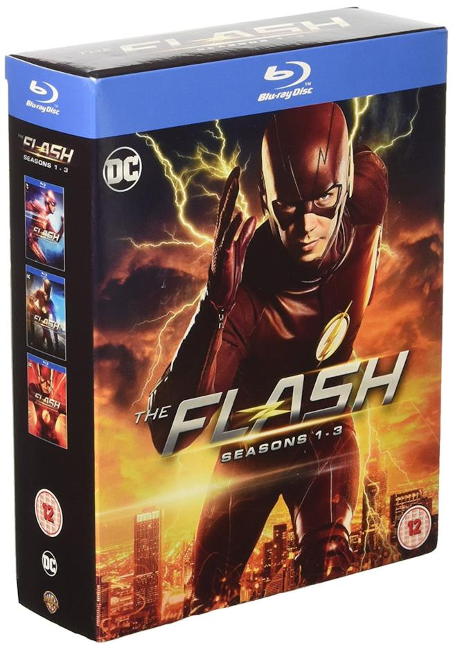 Cofanetto Blu-ray di The Flash - Seasons 1-3