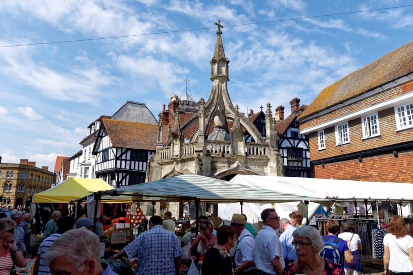 Market Square a Salisbury