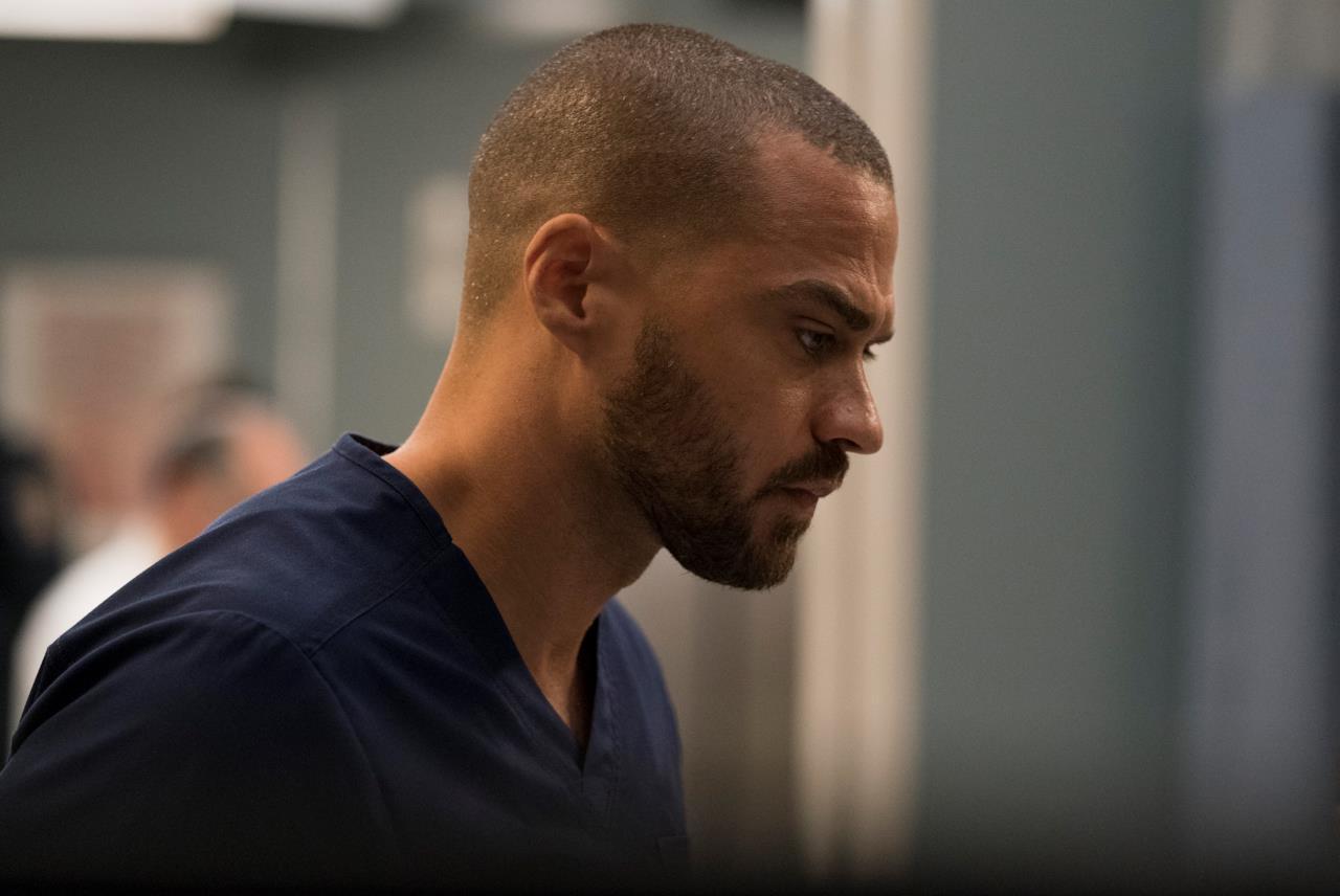 Jesse Williams in Grey's Anatomy
