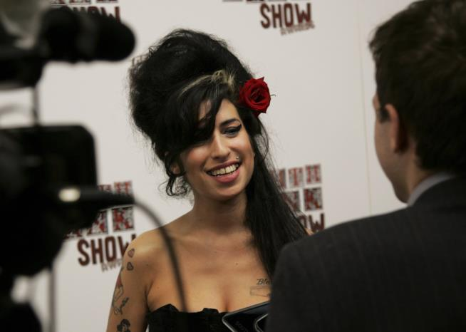 Amy Winehouse ai tempi di Black To Black
