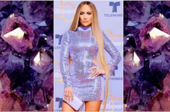 I vestiti con paillettes come Jennifer Lopez