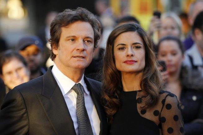 Colin Firth è sposato dal 1997 con Livia Giuggioli