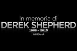 Il nostro tributo a Derek Shepherd