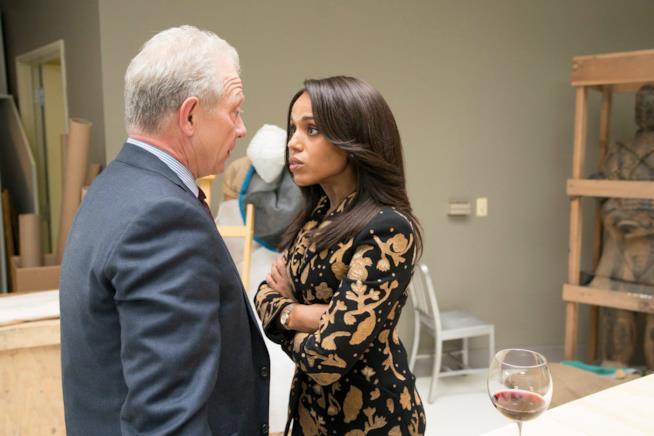 Cyrus Beene e Olivia Pope in Scandal