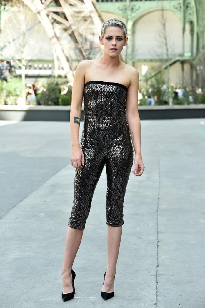 Kristen Stewart alla sfilata Chanel 2017