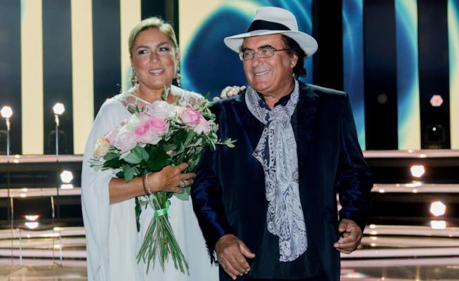 Al Bano e Romina sul palco