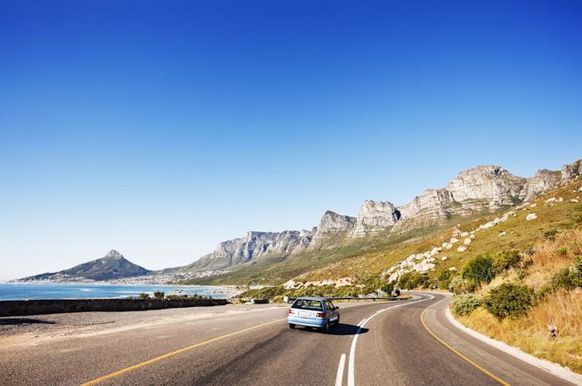 Viaggio di coppia on the road in Sudafrica