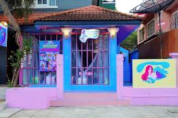 L'ingresso del Mermaid Cafè
