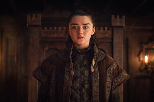 Arya Stark nella serie