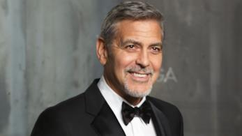 L'attore George Clooney