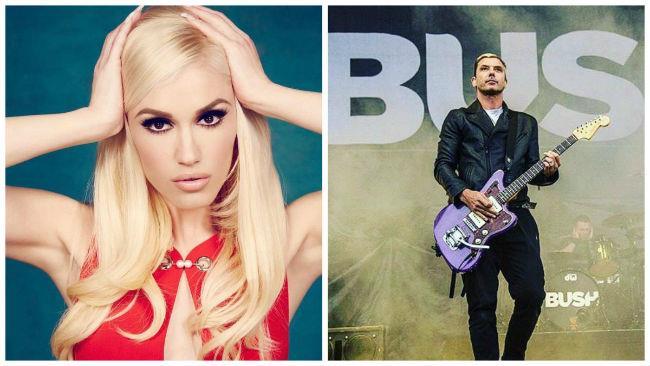 Le star della musica Gwen Stefani e Gavin Rossdale su Instagram