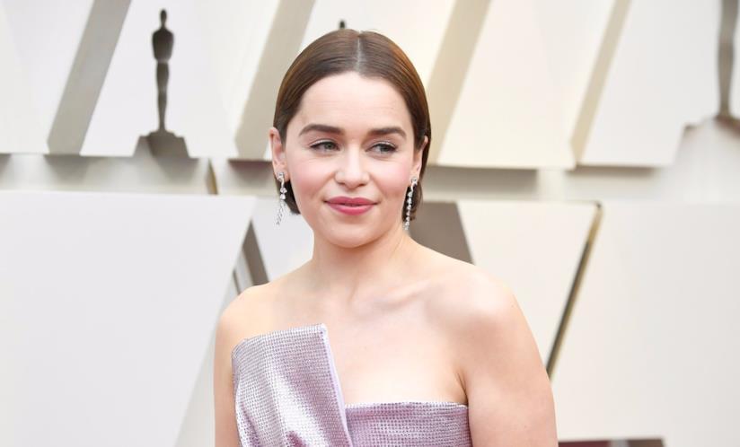 Emilia Clarke in primo piano