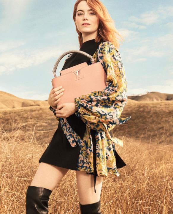 Emma Stone nella campagna pre autunnale di Louis Vuitton