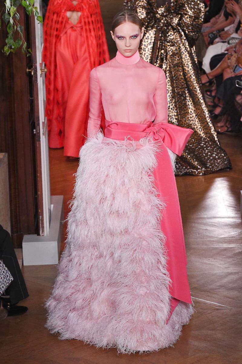 Sfilata VALENTINO Collezione Alta moda Autunno Inverno 19/20 Parigi - ISI_4224