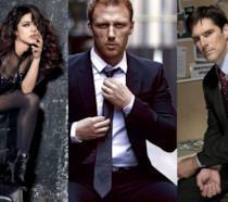 I protagonisti di Quantico, Grey's Anatomy e Criminal Minds, le serie tv ABC