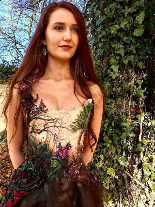 L'abito in stile natura