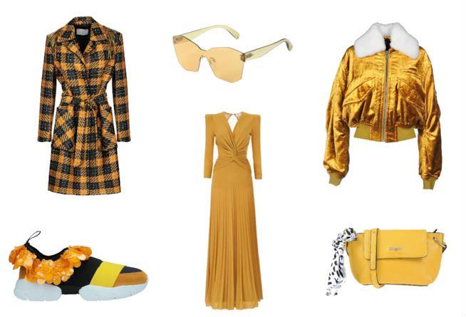 Giallo senape  capi e accessori di moda per l autunno inverno 2018 90aed0cbc06