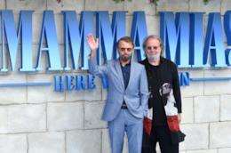 I membri degli ABBA Björn Ulvaeus e Benny Andersson