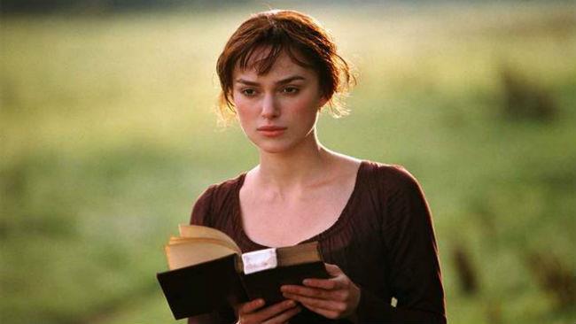 Keira Knightley nel film del 2006 ispirato a Orgoglio e pregiudizio
