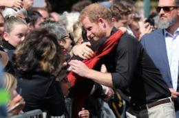 Il principe Harry a Auckland