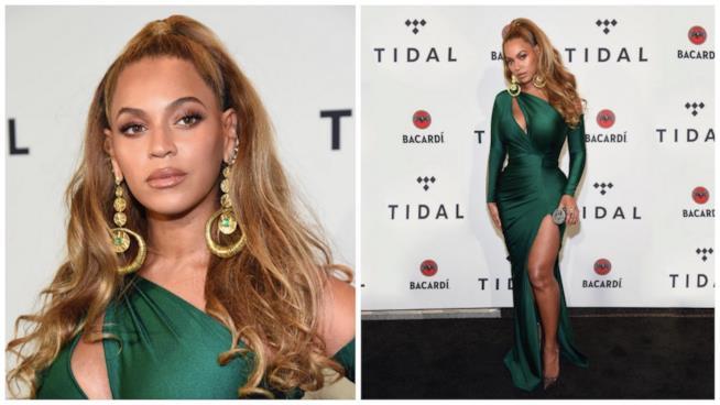 Beyoncé per la prima volta sul red carpet dopo la nascita dei gemelli