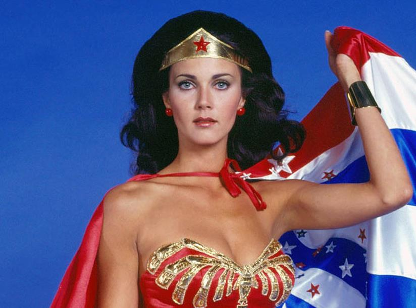 Lynda Carter nei panni di Wonder Woman