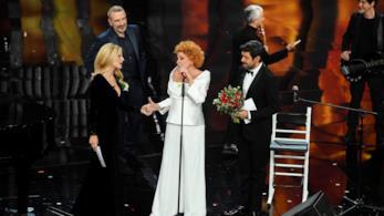 L'esibizione di Ornella Vanoni con Bungaro e Pacifico Sanremo 2018