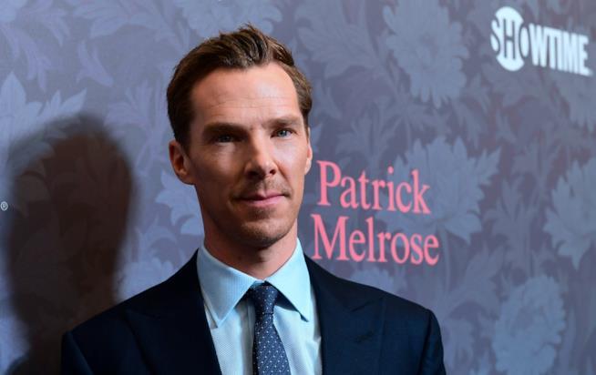 L'attore Benedict Cumberbatch