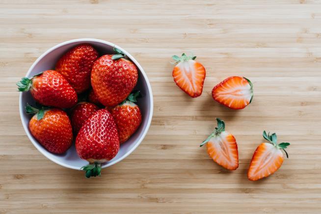 Fragole: frutta rossa