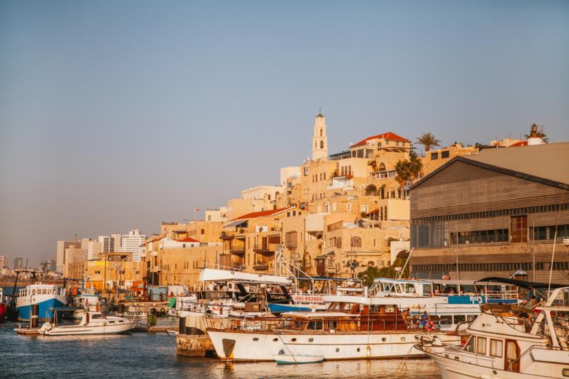 Old Jaffa e il Mercato delle Pulci