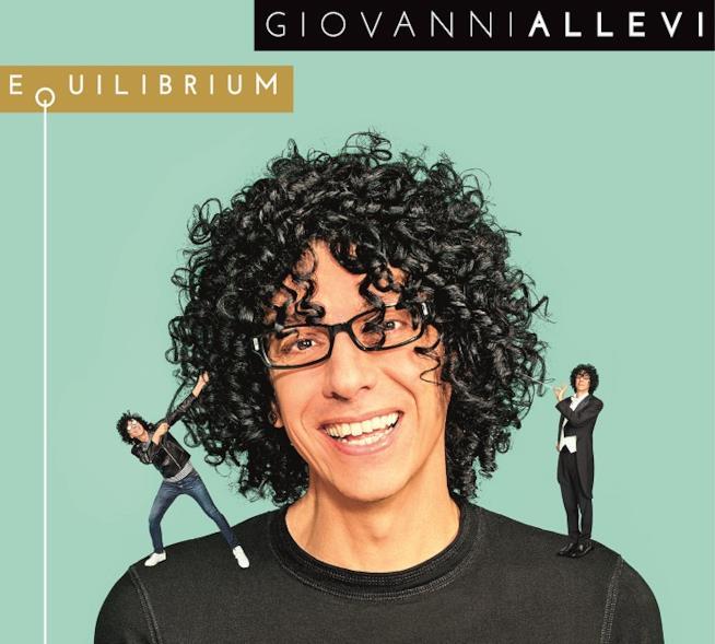 Giovanni Allevi: cover album Equilibrium (2017)