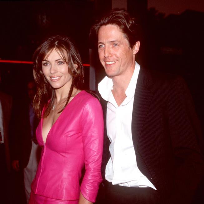 Hugh Grant e Liz Hurley quando stavano insieme