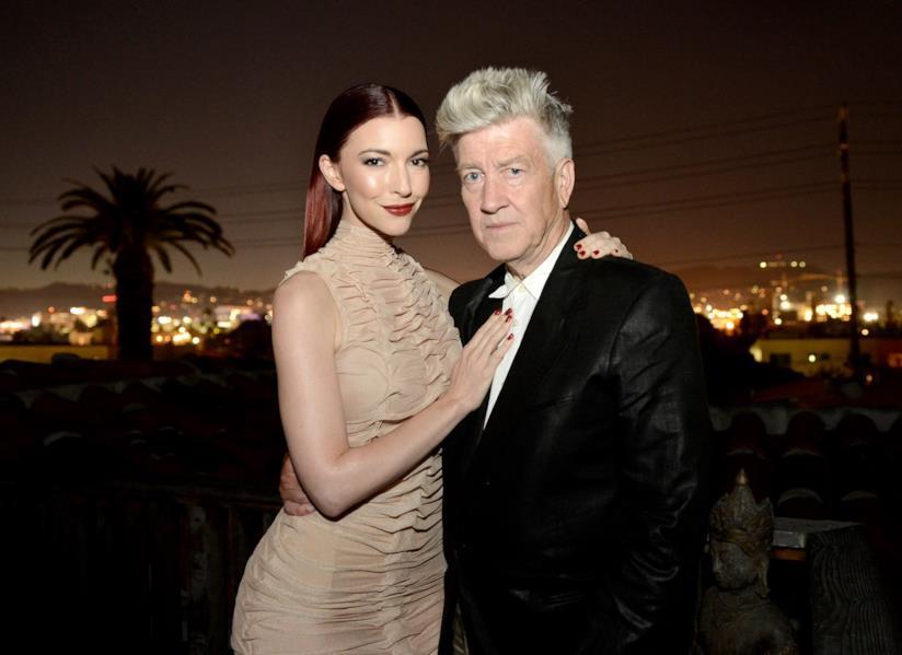 Chrysta Bell e David Lynch a Los Angeles
