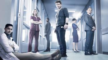 Una scena della serie TV The Resident