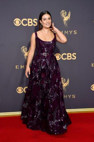 Lea Michele sul red carpet Emmy