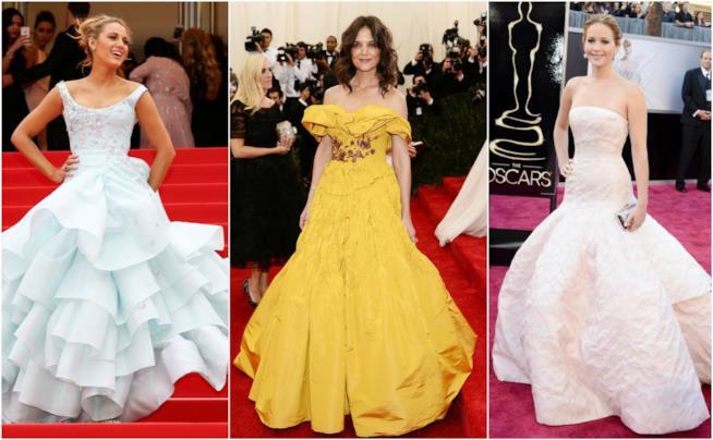 Le attrici che indossano abiti simili alle principesse Disney