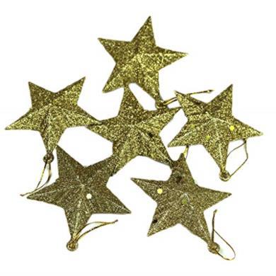 Piccoli Ornamenti Natalizi a forma di stella