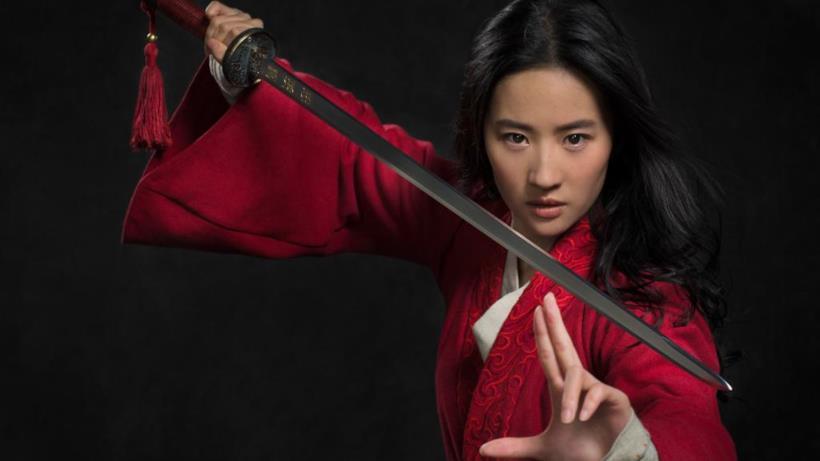 Liu Yifei nei panni di Mulan
