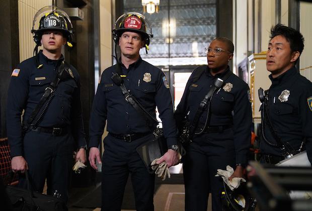 911: un'immagine promozionale dalla serie