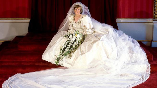 Abito da sposa di Diana Spencer