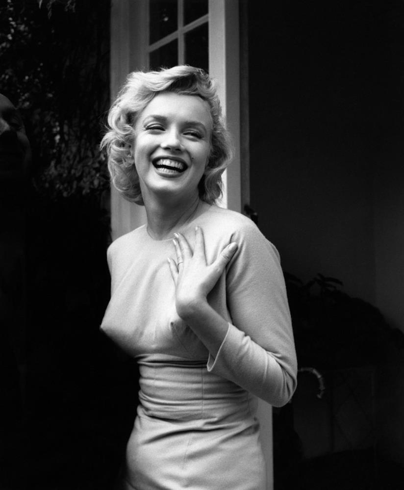 Lo splendido sorriso di Marilyn Monroe