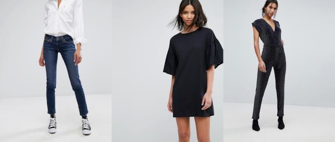 Abbigliamento in offerta su Asos per il Black Friday