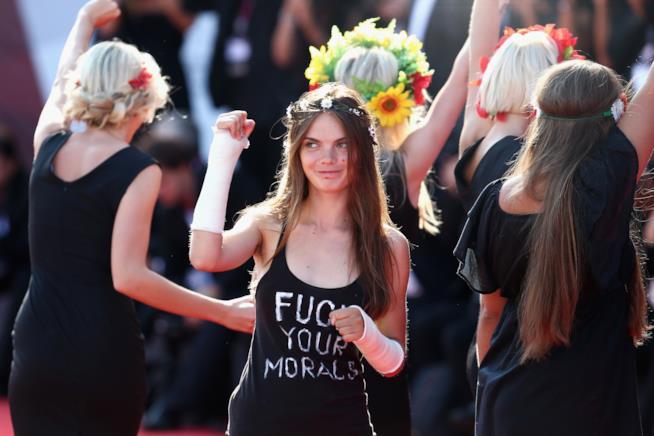 Manifestazione Femen