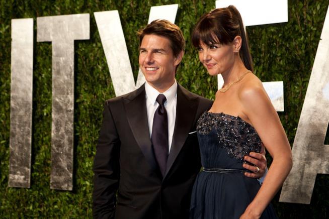 Tom Cruise e Katie Holmes ai tempi della loro storia
