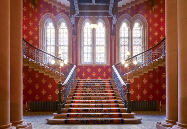 Il St. Pancras Renaissance Hotel a Londra
